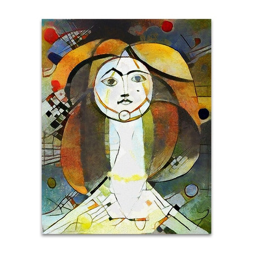 Woman Abstract Style Art Print