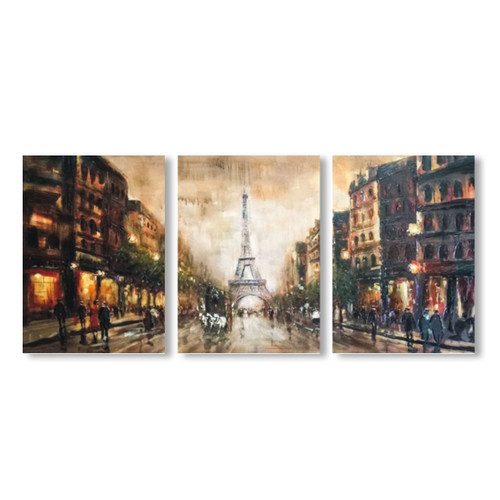 Paris Paris - 3panels