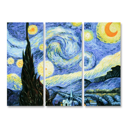 Starry Night - 3panels