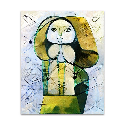 Alternative Picasso Painting Art Print