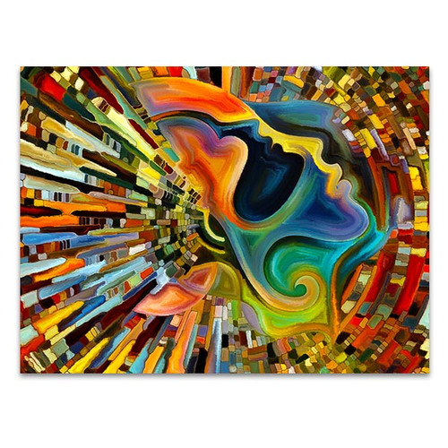 Colors of the Mind Art Print