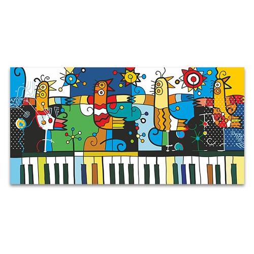 Piano and Birds Wall Art Print