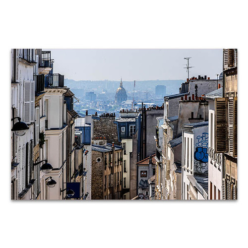 Buildings of Montmarte Art Print