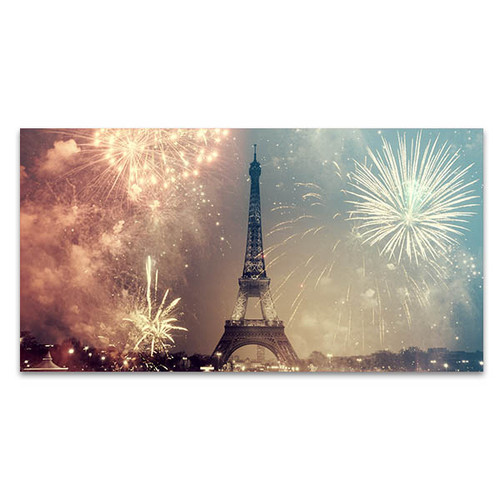New Year in Paris Art Print
