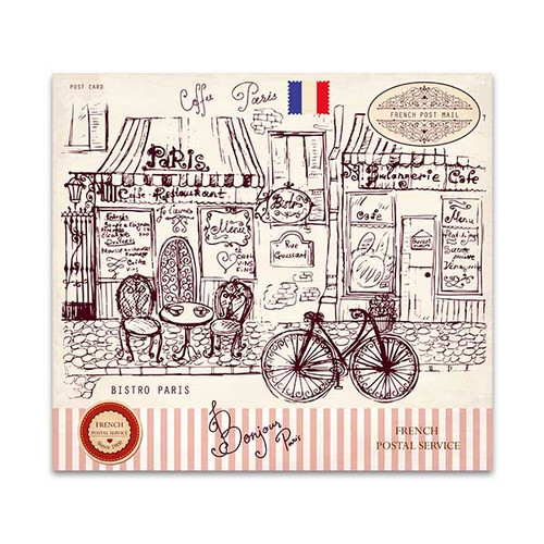 Paris Symbols Wall Art Print