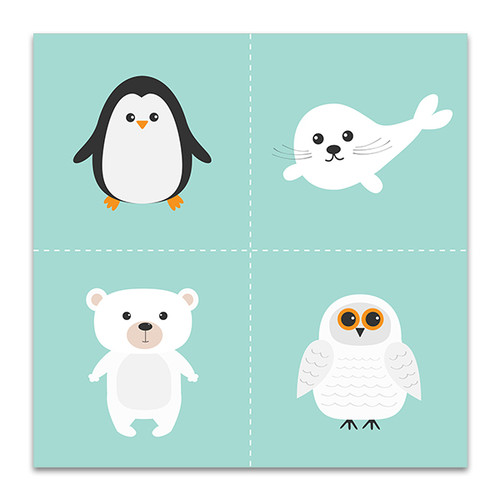 Artic Polar Animal Art Print