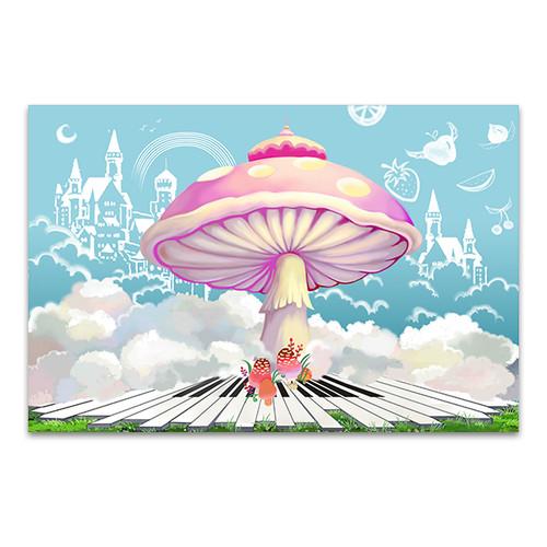 Happy Life Castle Art Print