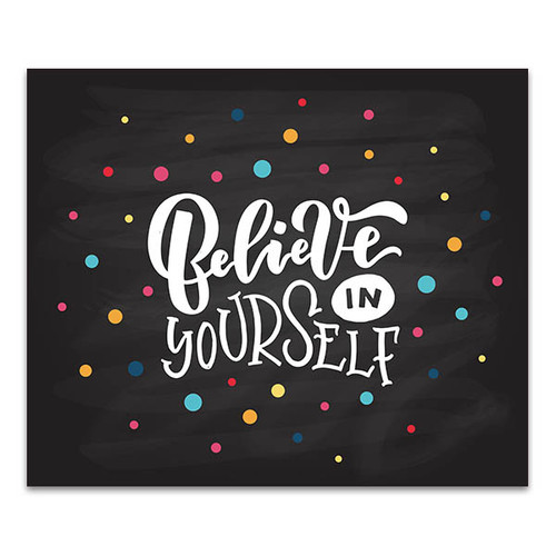 Believe in Self Art Print