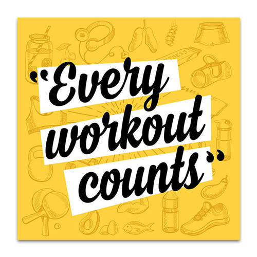 Fitness Motivation Art Print