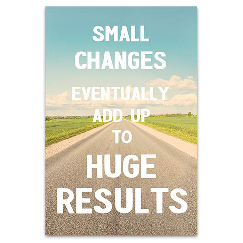 Small Changes Canvas Art Print