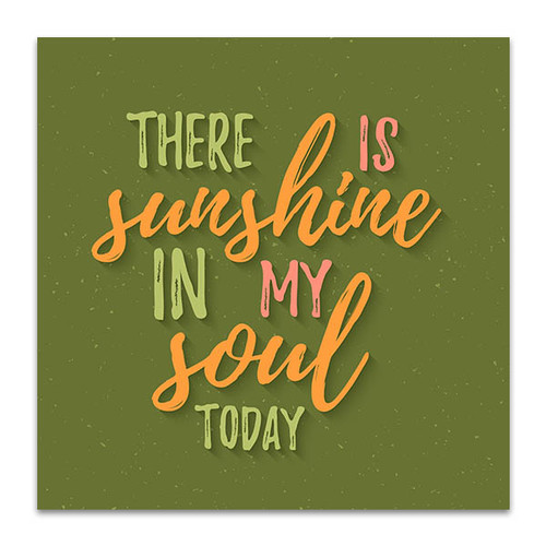 Sunshine in Soul Art Print