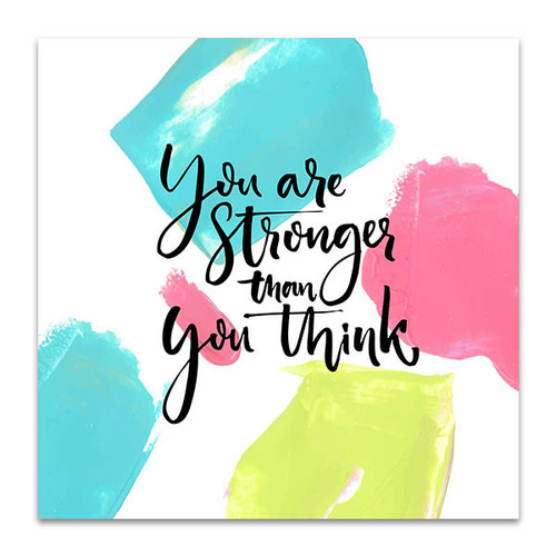 You Are Strong Wall Art Print