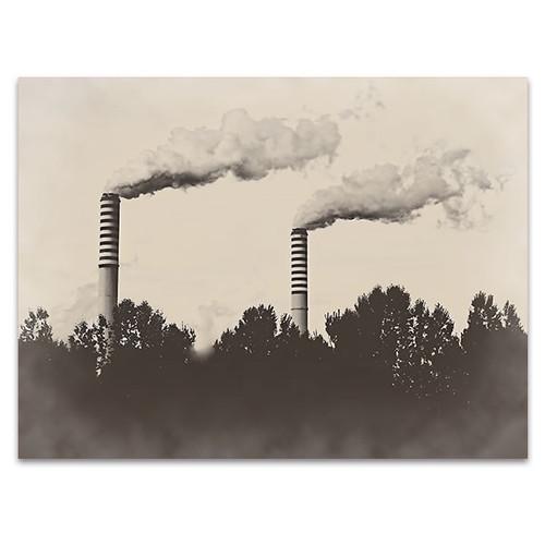 Factory Plant Wall Art Print