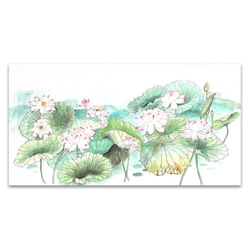 Waterlily Sketches Art Print