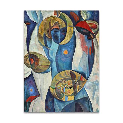 Art of Cubism Canvas Print