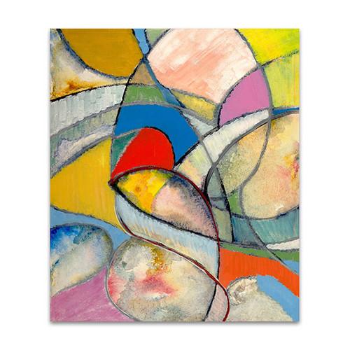 Arty Cubism Wall Art Print