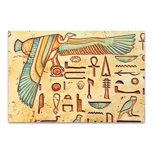 Ankh Carving Art Print