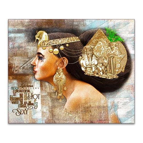 Egyptian Woman Canvas Print