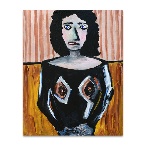 Figurative Woman Art Print