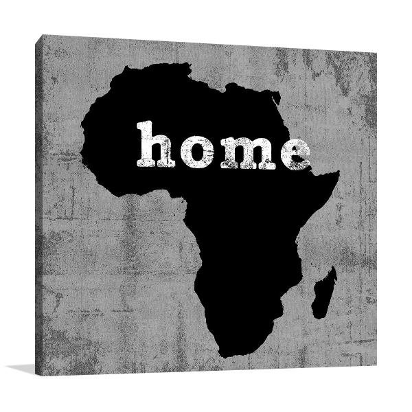 Africa Home Wall Art Print