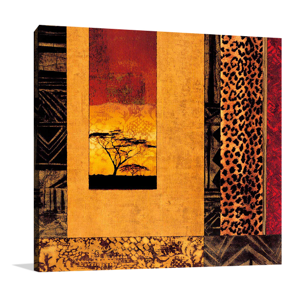 African Studies I Wall Art Print