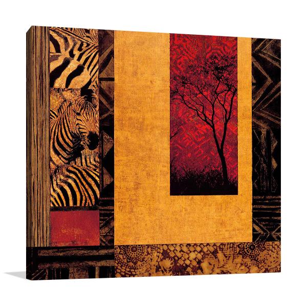 African Studies II Wall Art Print