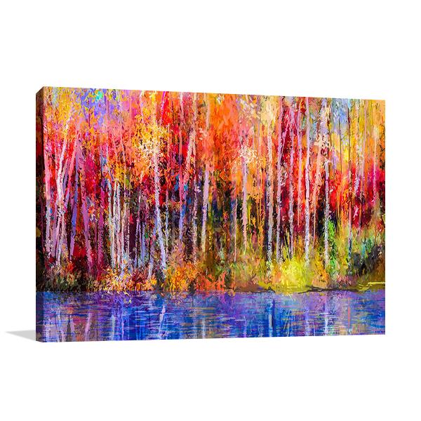 A Autumn Trees Wall Art Print
