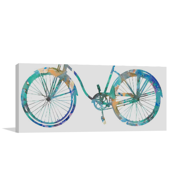 Bike Ride II Wall Art Print