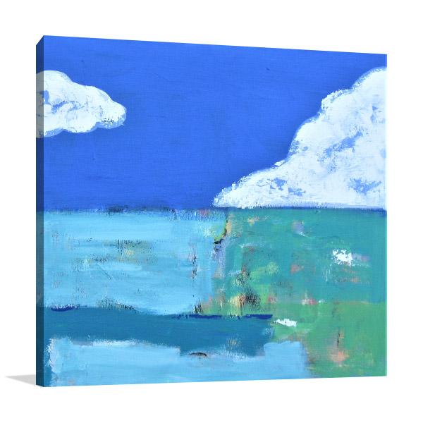 Brooke Howie Paintings | Blue Sky
