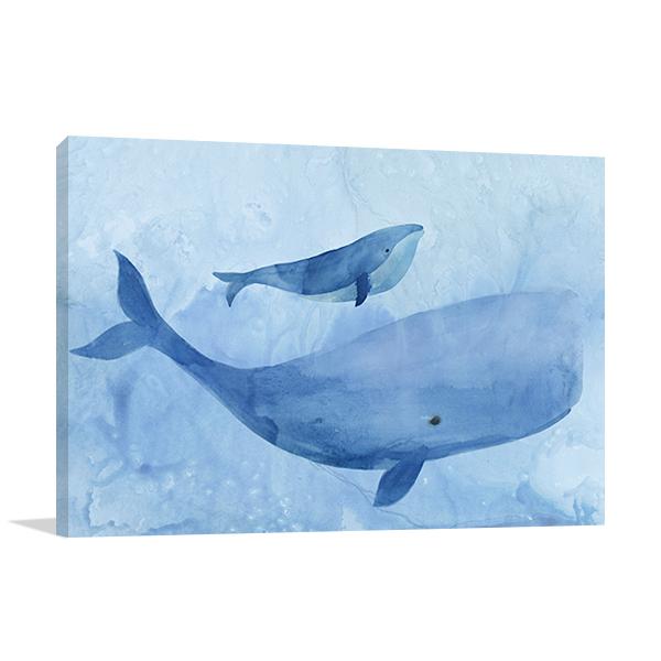 Blue Spirits I Wall Art Print