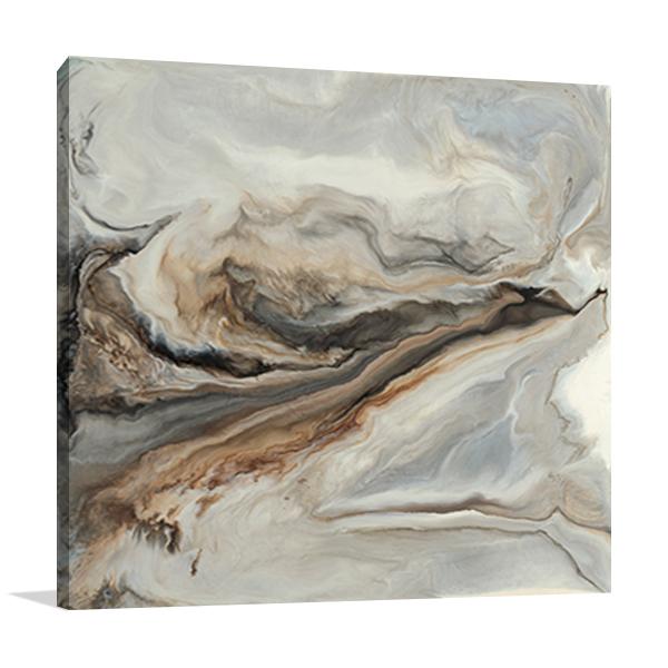 Brown Marble Wall Art Print