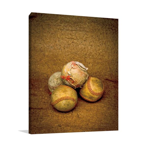 Game Ball Wall Art Print
