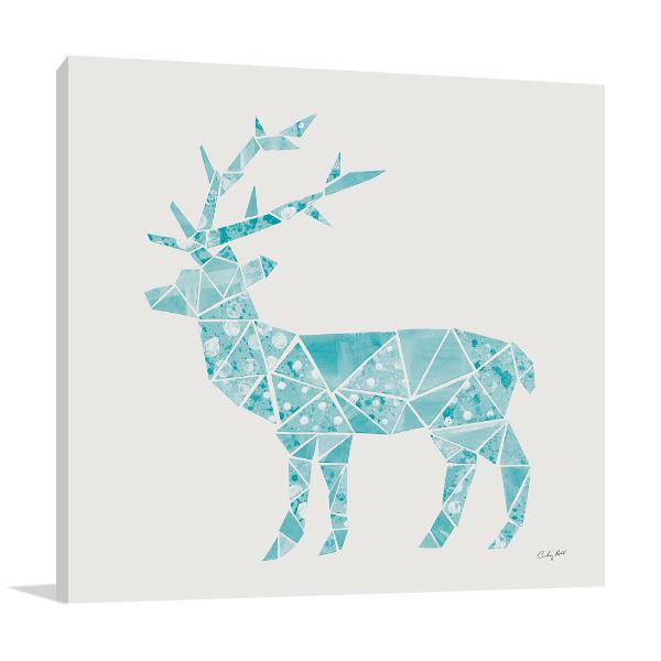 Geometric Animal IV Wall Print