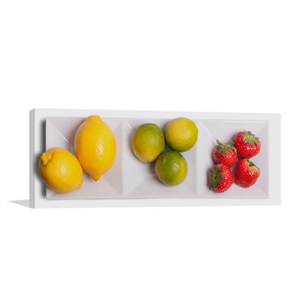 Kinds of Fruit Wall Art Print