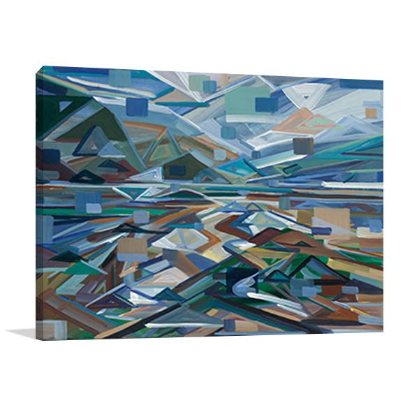 Low Tide Wall Art Print