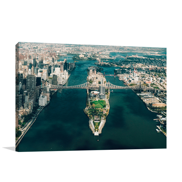 New York Roosevelt Island Wall Print