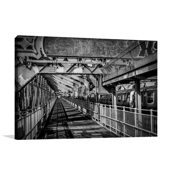 New York Train Wall Art Print