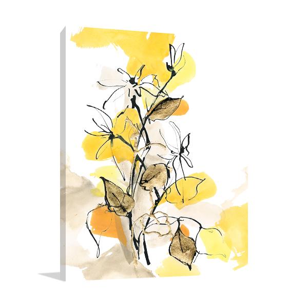 Paris Yellow II Wall Art Print