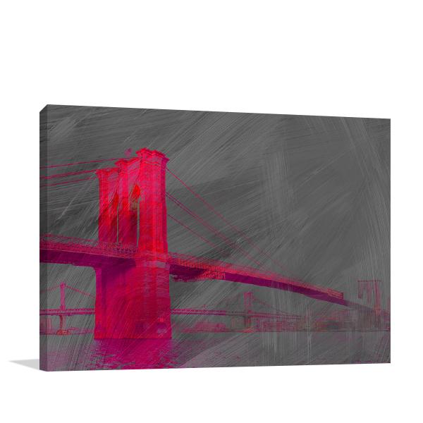 -3d-pink-brooklyn-bridge-wall-art-print.jpg