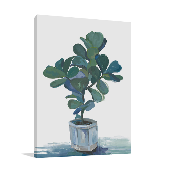Potted Plant Wall Art Print
