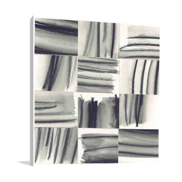 Squares V Wall Art Print