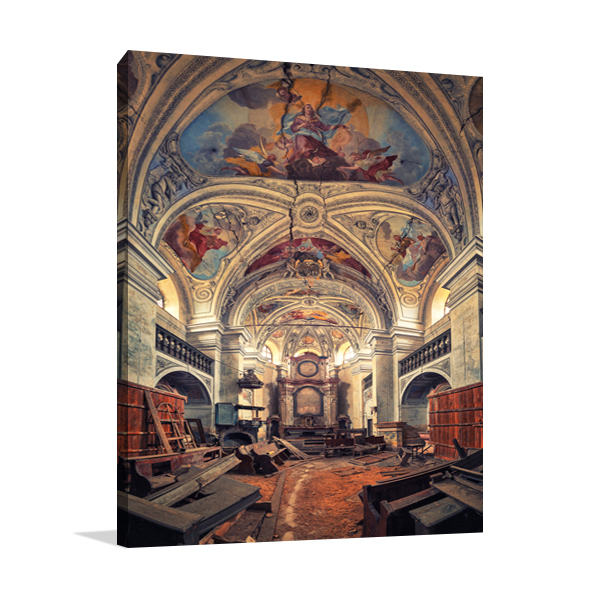 The Last Prayer Wall Art Print