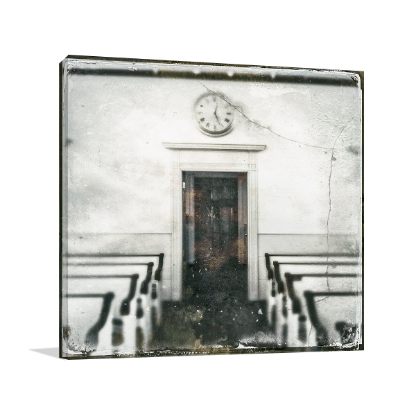Time Cracked Wall Art Print