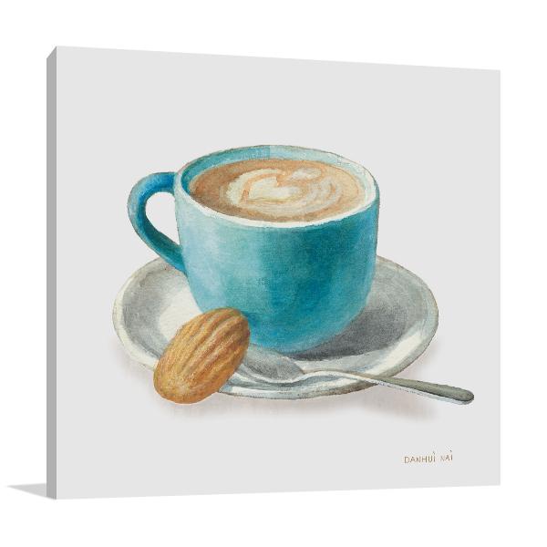 Wake Me Up Coffee I Wall Art Print