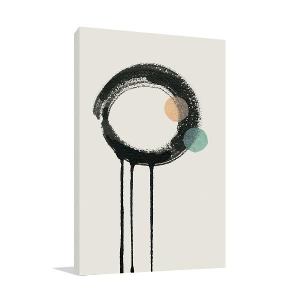 Zen Circles B Wall Art Print