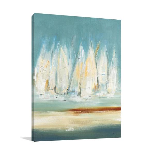 A Day to Sail I Wall Art Print