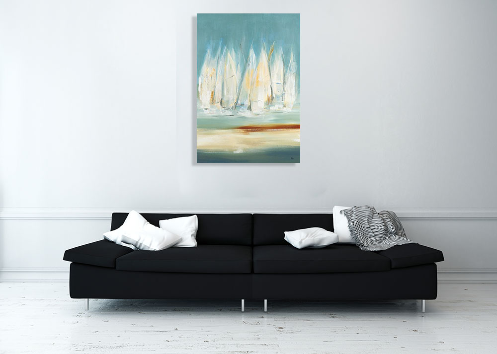 Lisa Ridgers Contemporary Artwork on Canvas