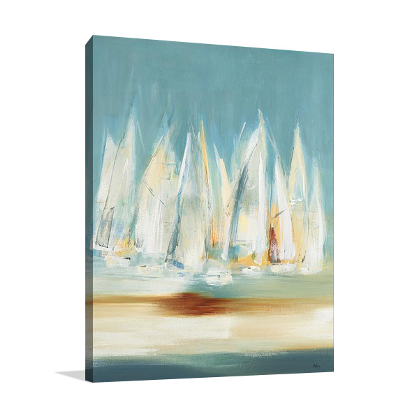 Canvas Art Print | A Day to Sail II