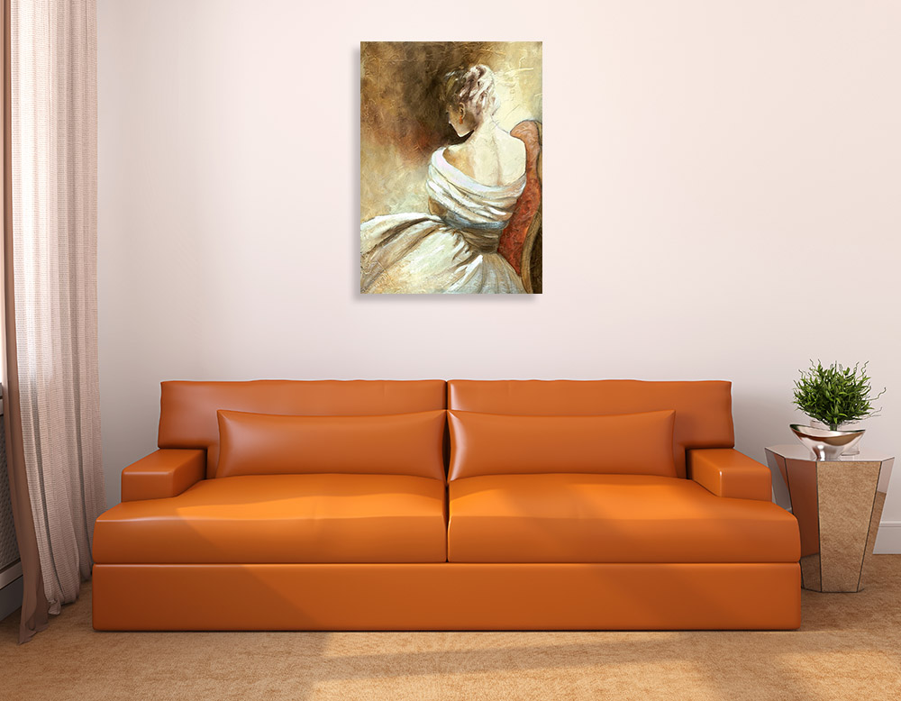 Fashion Contemporary Canvas Print