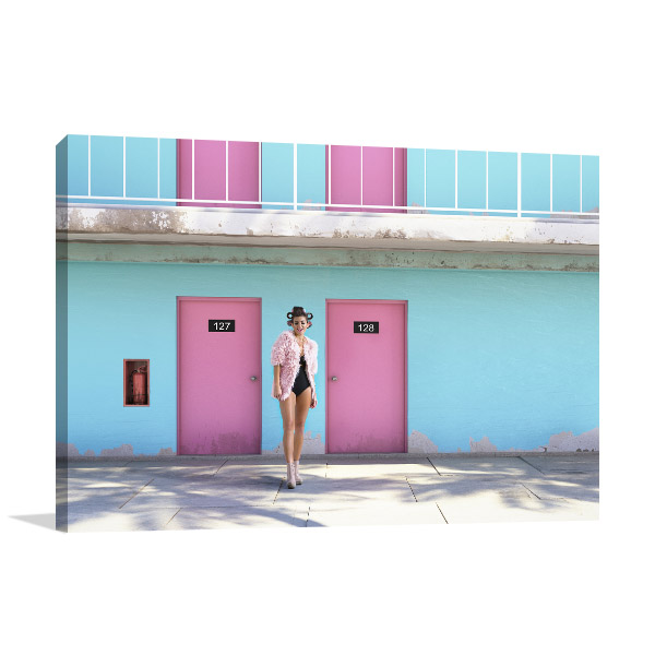 Abandoned Motel Wall Art Photo Print